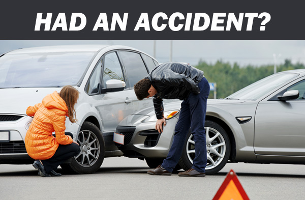 Had an accident?