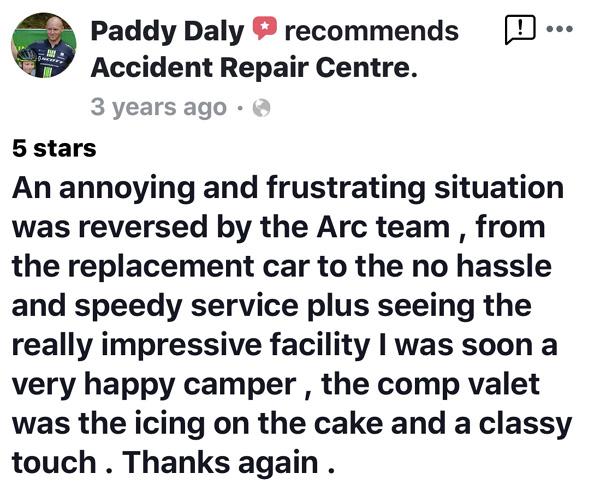 ARC testimonial